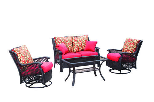 Backyard Creations® Allenwood 4 Piece Deep Seating Patio Set At Menards®