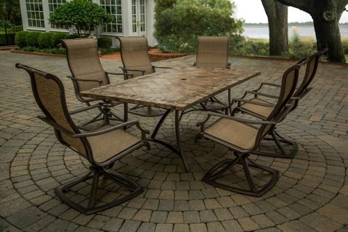 Charmant Sterling Home U0026 Patio® Fresno 7 Piece Dining Patio Set At Menards®