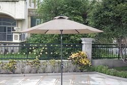 Backyard Creations Tacoma 9 Patio Market Umbrella At
