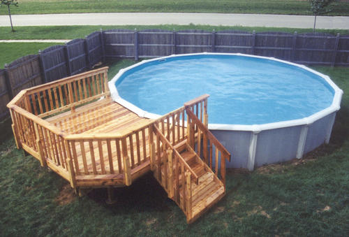 10' x 12' Leisure Pool Deck for a 21' Pool Material List ...
