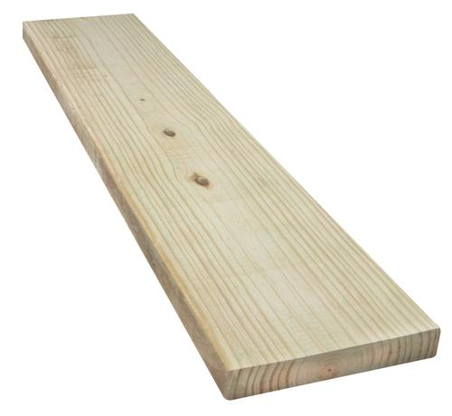 2 X 10 Ground Contact Ac2 Green Pressure Treated Lumber At Menards