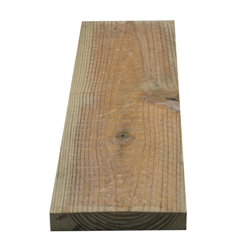 1 X 6 X 16 Ground Contact Ac2 Green Pressure Treated Rough Sawn Lumber At Menards
