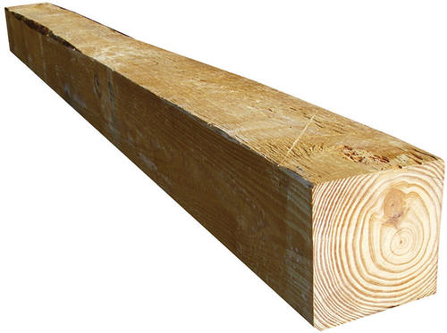 5 x 5 x 8 ground contact pressure treated rough sawn timber at menards