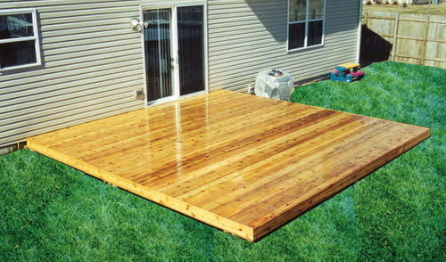 12 X Freestanding Patio Deck Material List At Menards