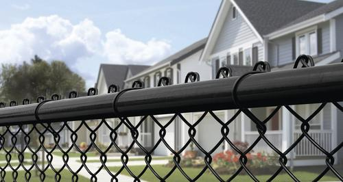 48 X 100 Black Chain Link Fence Project Material List