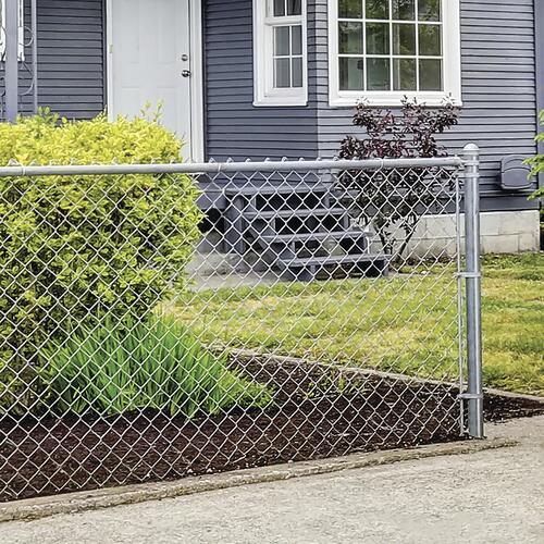 48 X 100 Galvanized Chain Link Fence Project Material List