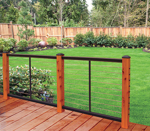 Feeney 12' Aluminum Railing Cable Rail at Menards®
