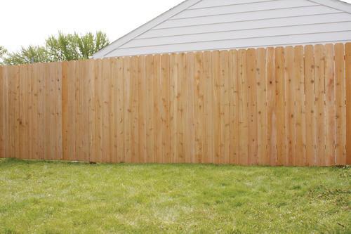 100' Cedar Dog Ear Fence Material List at Menards®