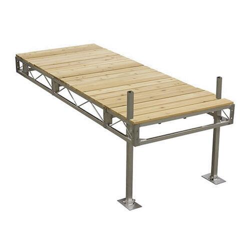 4' x 10' Aluminum Stationary Dock at Menards®