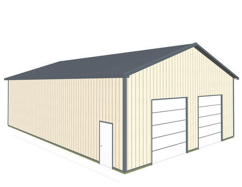36\'W x 54\'L x 14\'H Garage Post Frame Building at Menards®