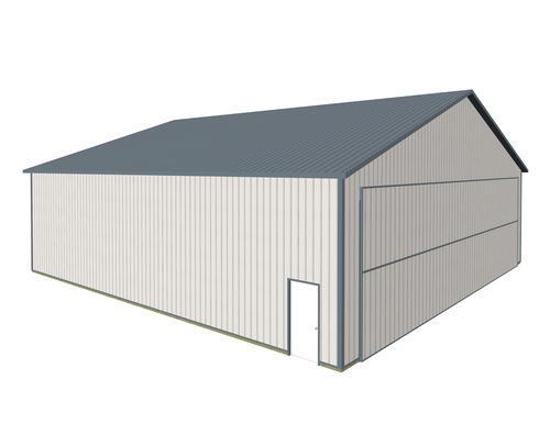 60\'W x 60\'L x 16\'H Airplane Hangar Post Frame Building at Menards®
