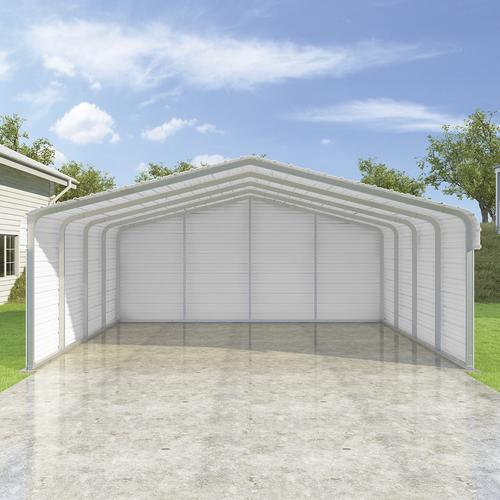 VersaTube® 20'W X 19'L X 7'H Enclosed Steel Shelter