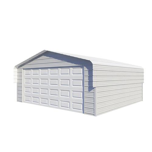 VersaTube® 20'W x 18'L x 7 5'H Fully Enclosed Steel Shelter