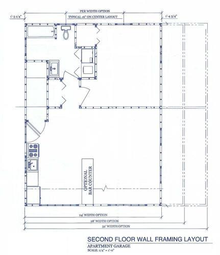 2-Car Garage-Apartment Material List at Menards®