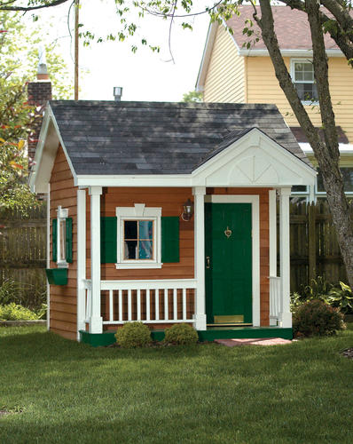 Garden Sheds Menards the merrill 8'w x 8'd playhouse at menards®