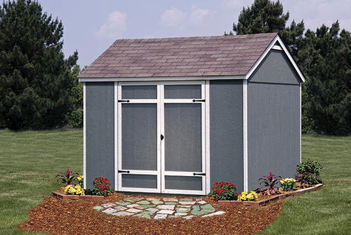 ellington 10w x 8d shed at menards