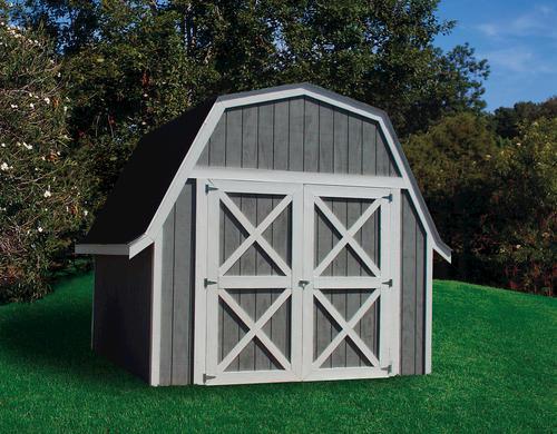 Ez Build Gambrel Shed Material List At Menards