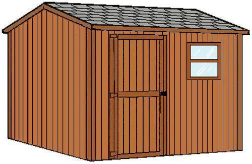 Ez Build Gable Tool Shed Material List At Menards