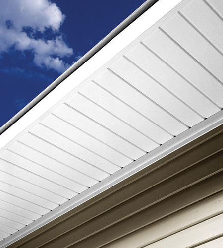 Solid Vinyl Soffit Fascia Sytem Material List At Menards