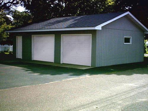 24 x 32 x 8 2 car garage at menards - Menards Garage