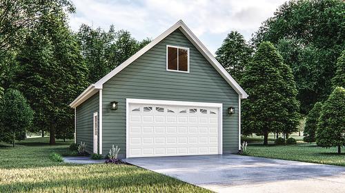 2 Car Room In Attic Garage 24 X 30 X 10 Material List At Menards,2400 Sq Ft Duplex House Plans India