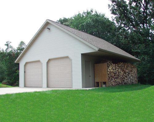 26 x 30 x 9 2Car Garage at Menards – 26X30 Garage Plans