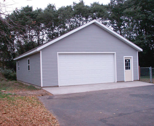 28 x 40 x 9 2Car Garage at Menards – Menards Garages Plans