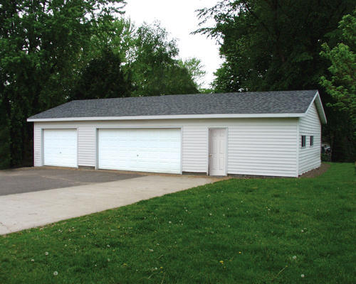 24' x 48' x 8' 3-Car Garage Material List at Menards®