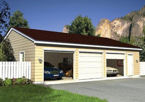 3 Car Garage Material List Model Number 1955808 Menards Sku