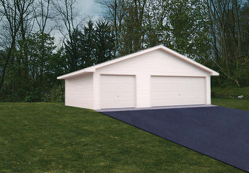 30' x 32' x 8' 3-Car Garage Material List at Menards®