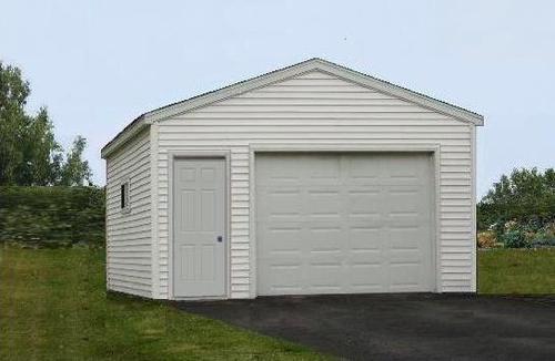 16 x 20 x 8 1Car Garage at Menards – 16X20 Garage Plans