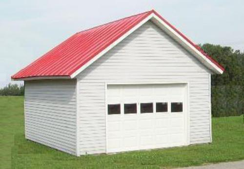 14' x 20' x 8' 1-Car Garage Material List at Menards®