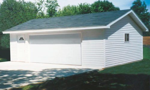 24 x 24 x 8 2Car Garage at Menards – 28 X 24 Garage Plans