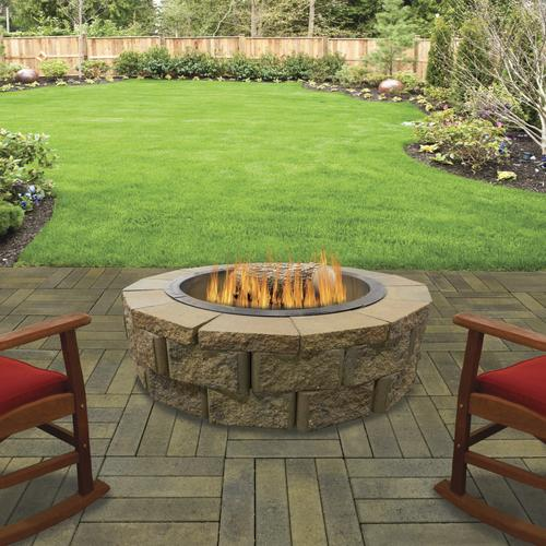 """36"""" Lakewood Fire Pit Project Material List at Menards®"""