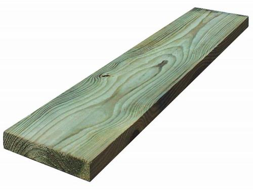 1 x 6 Above Ground AC2® Green Pressure Treated Lumber at
