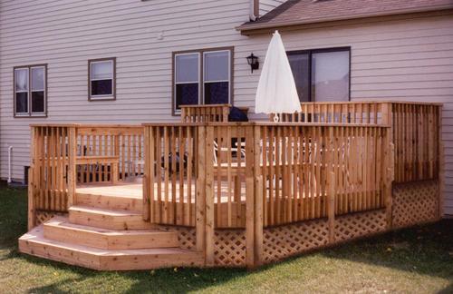 X 14 Lower Deck Building Plans