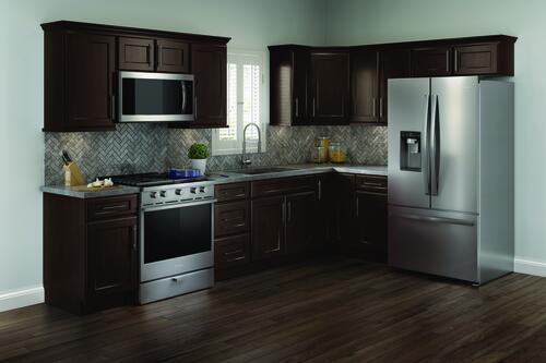 Cardell Cornerstone Collection Rockney 19 L Kitchen Cabinets Only At Menards