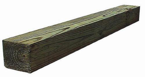 4 x 4 #2 Ground Contact AC2® Green Pressure Treated Timber
