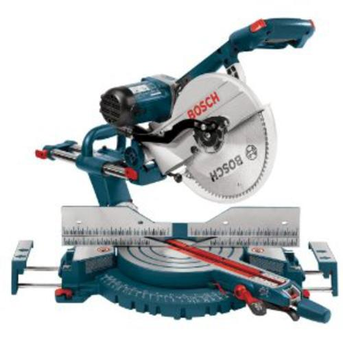 Bosch Compound Miter Saw With Masterforce Stand 4 Hour Base Rental At Menards
