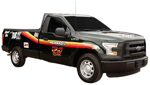 Trucks For Rent >> Truck 75 Minute Base Rental At Menards