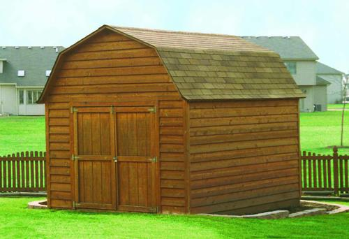 8w x 12d gambrel shed at menards