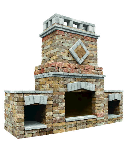 Amazing Alpine Fireplace With 2 Wood Boxes Project Material List At Home Interior And Landscaping Ymoonbapapsignezvosmurscom
