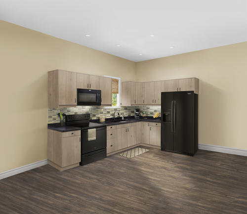 Klearvue L Shaped Kitchen W 10 Cabinet Cabinets Only At
