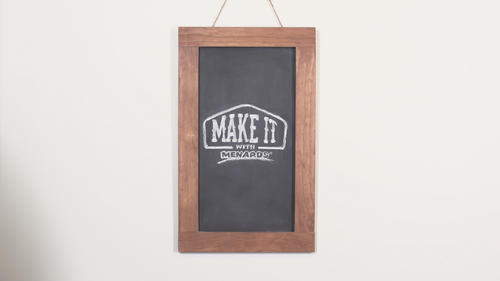 Framed Chalkboard at Menards®
