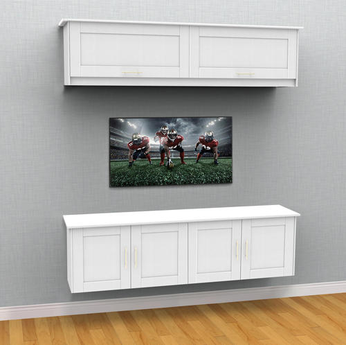 White Kitchen Cabinets At Menards: KLËARVŪE Cabinetry® Entertainment Stand