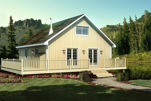 G20001 - Cabin Retreat Vacation Home at Menards® on vacation home floor plans, vacation home plans with loft, vacation house plans,