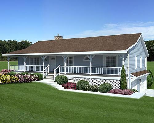 G20198 - Dramatic Ranch 1 - Story Home at Menards®