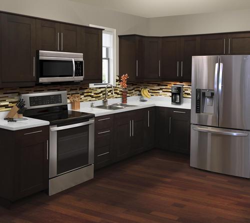 KLËARVŪE® L-Shaped Kitchen - Cabinets Only at Menards®