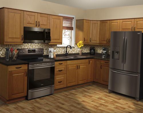 Klearvue L Shaped Kitchen Cabinets Only At Menards