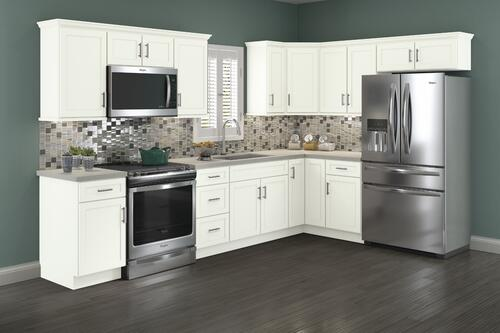 Cardell® Cornerstone Collection Lakeridge 19'L Kitchen - Cabinets Only at Menards®